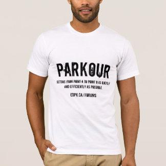 Camiseta Parkour- T AZUL