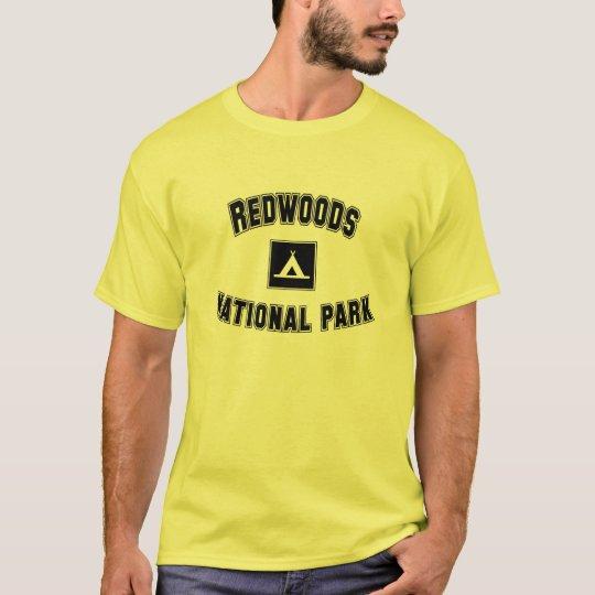 Camiseta Parque nacional de las secoyas