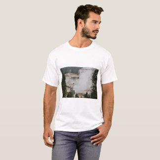 Camiseta Parque nacional de Mammoth Hot Springs,