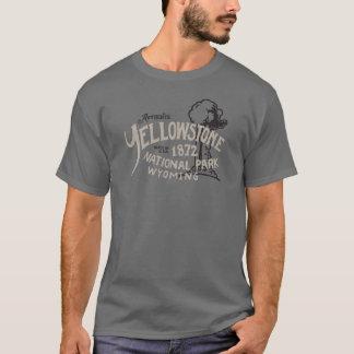 Camiseta Parque nacional Wyoming fiel viejo de Yellowstone