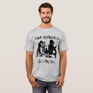 Camiseta Parte 2 de cuatro elementos