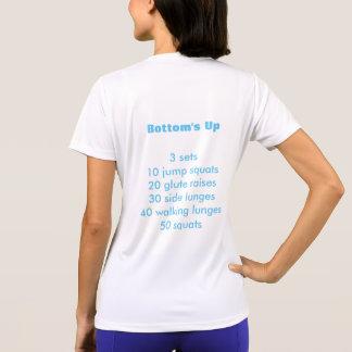 Camiseta Parte inferior para arriba