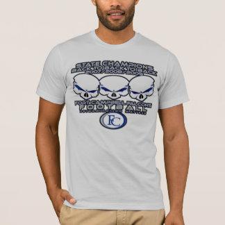 Camiseta Parte posterior Skullz de la parte posterior 2 de