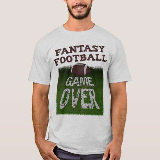 Camiseta Partido de fútbol de la fantasía encima