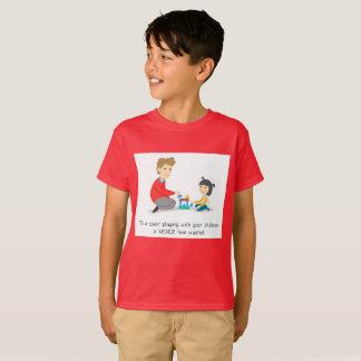 Camiseta Pase el tiempo con sus niños