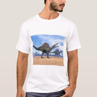 Camiseta Paseo de los dinosaurios de Spinosaurus - 3D