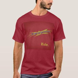 Camiseta paseo rojo del bwom