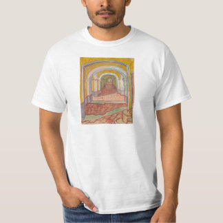 Camiseta Pasillo en el hospital Vincent van Gogh de San