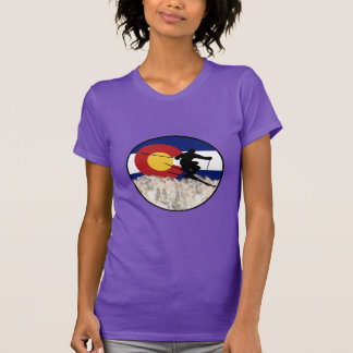Camiseta Paso de montaña rocosa