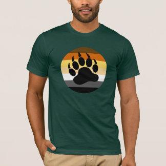 Camiseta Pata de oso en el círculo del orgullo del oso