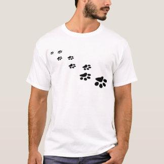 Camiseta ¡PATAS! (~ de las impresiones de la pata del perro