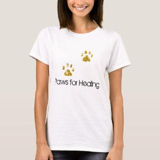 Camiseta patas, patas para curar