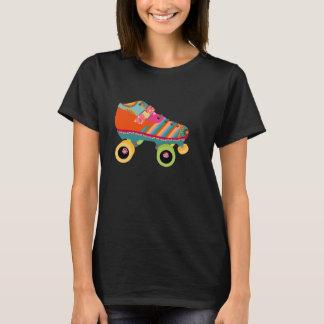 Camiseta Patín del disco del rodillo