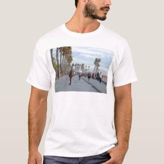 Camiseta patinaje a la playa de Venecia