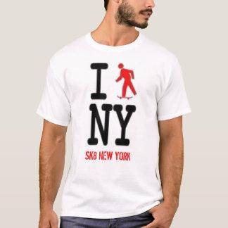 Camiseta patino Nueva York