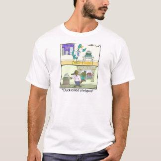 Camiseta Pato-Cargada en cuenta divertida de