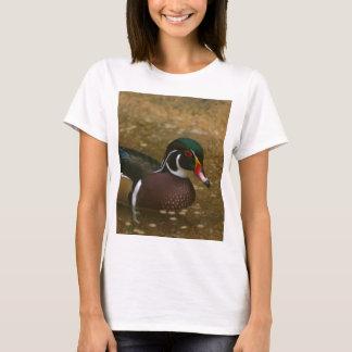 Camiseta Pato de madera masculino