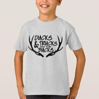 Camiseta Patos, camiones, ocho dólares del punto