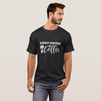 Camiseta Patrocinado oficialmente por el café