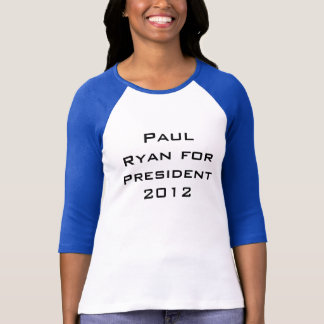 Camiseta Paul Ryan para el presidente 2012