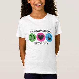 Camiseta Paz del Queens del ajedrez