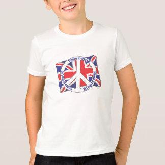 Camiseta Paz en el Reino Unido