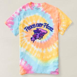 Camiseta Paz sobre la pizza