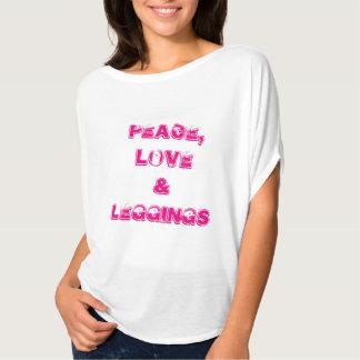 Camiseta Peaceloveleggings