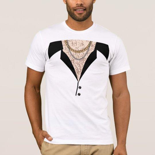 Camiseta Pecho melenudo