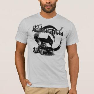 Camiseta Pedal al coche de Sprint del metal