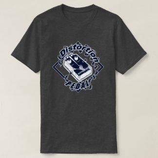 Camiseta Pedal de la distorsión - azul del diamante de la