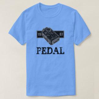 Camiseta Pedal de la distorsión negro y blanco 1987