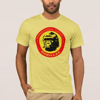 Camiseta Pedido internacional para los gorilas