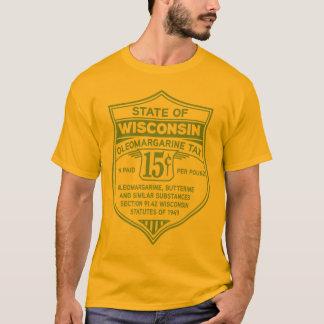 Camiseta Pegatina al óleo del impuesto