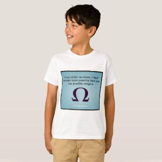 Camiseta Pegúeme abajo de (los niños)