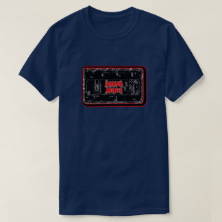 Camiseta Películas de terror - negro rojo de la cinta de