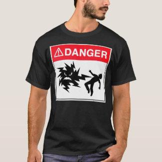 Camiseta peligro