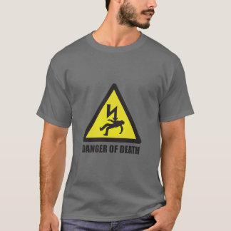 Camiseta Peligro de la muerte (NINGÚN Ctrl) para hombre