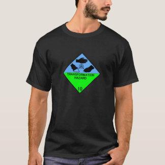 Camiseta Peligro de la transformación de la clase 10