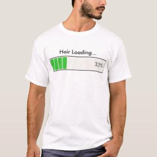 Camiseta Pelo que carga el 33 por ciento