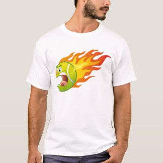 Camiseta Pelota de tenis llameante