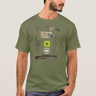 Camiseta Pelotón aerotransportado del ASL con la frontera y