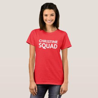 Camiseta Pelotón de Christine