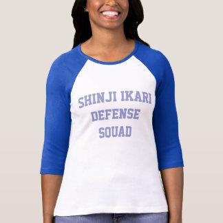 Camiseta Pelotón de la defensa de Shinji Ikari
