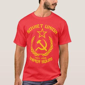 Camiseta Pelotón del francotirador de Unión Soviética