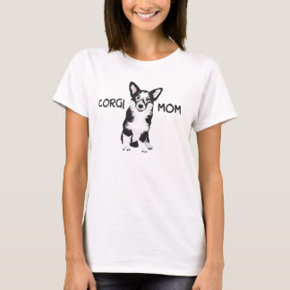 Camiseta Pembroke feliz del Corgi Galés - mamá del CORGI