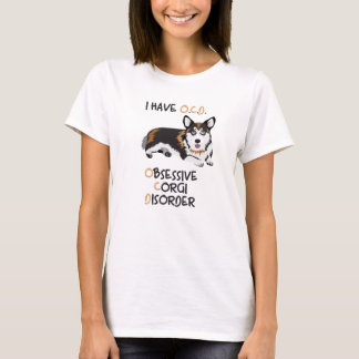 Camiseta Pembroke feliz Galés - desorden obsesivo del Corgi