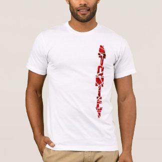 Camiseta Pendiente de Atomify (luz)