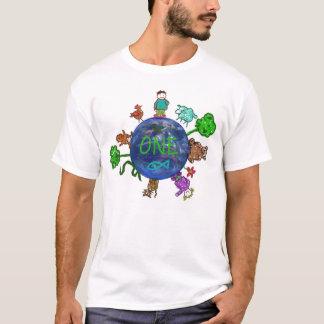 Camiseta Pensamiento positivo a partir de la UNO (un mundo,