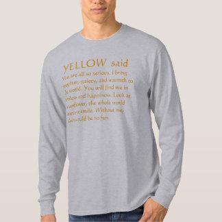 Camiseta Pensamientos AMARILLOS del girasol